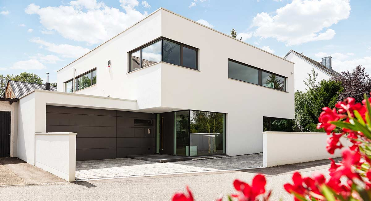 Kubisch-moderne Villa, Regensburg